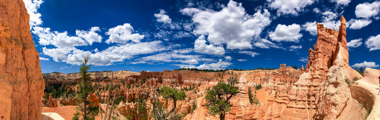 Bryce Canyon landscape on a beautiful summer day, Utah
