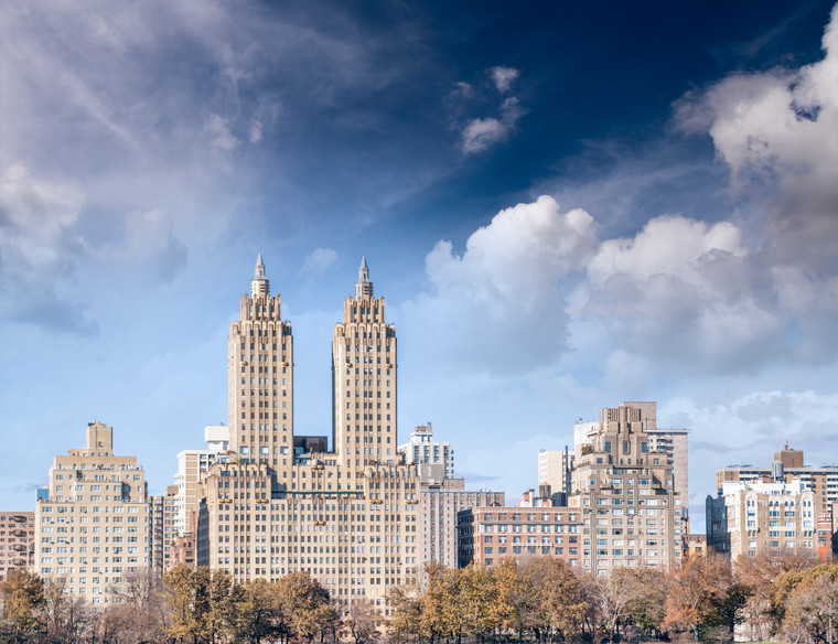 Buildings of Manhattan from Central Park