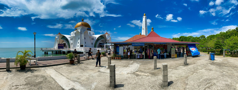 Melaka Straits Mosque, Malaysia