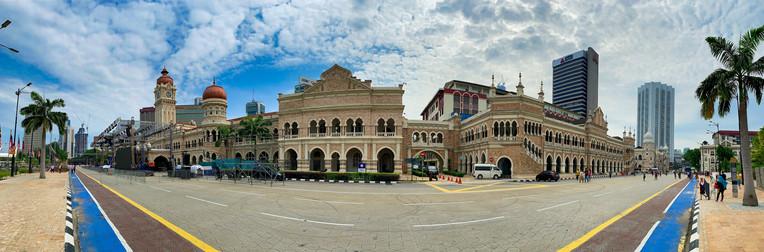 Merdeka Square in Melaka, Malaysia