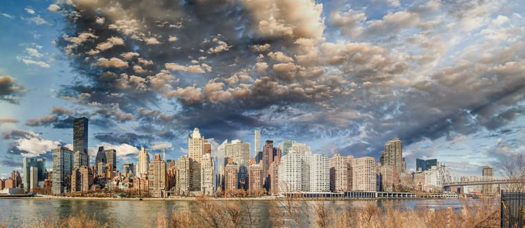 New York City from Roosevelt Island