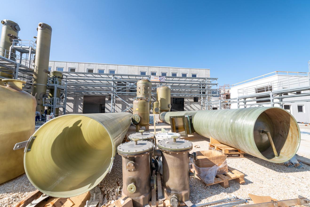 Plastic pipelines in contruction environment