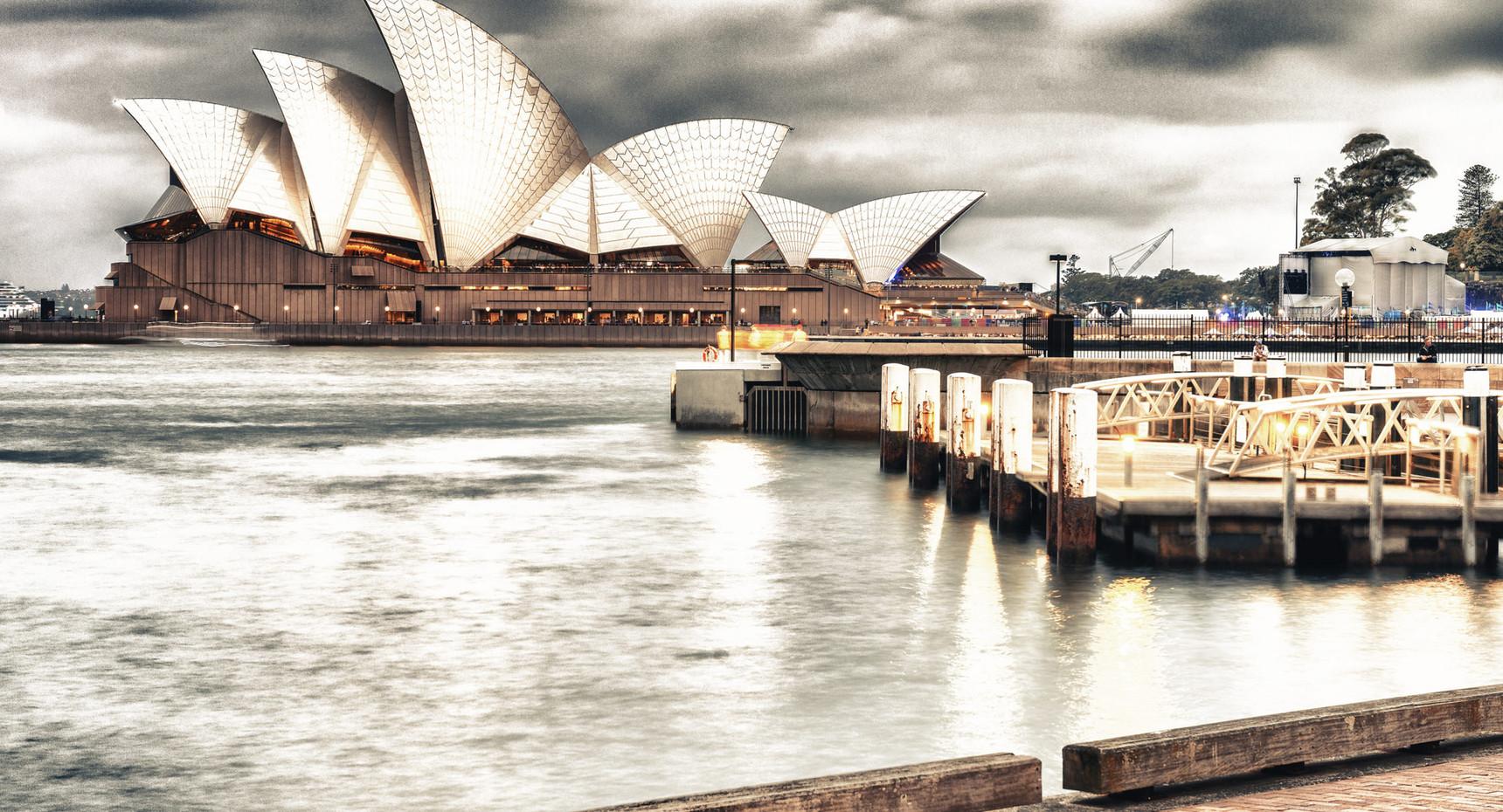 Sydney Opera House from the Harbor