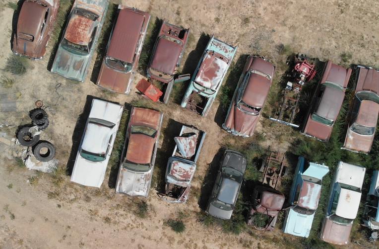 Abandoned Vehicle Parking, USA