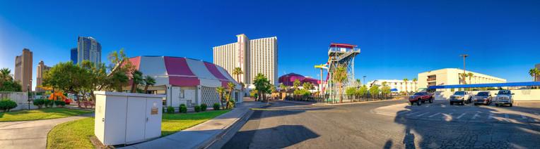 Circus Circus Casino and surrounding buildings in Las Vegas, Nevada