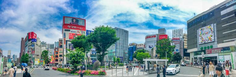 Shinkuku Streets in Tokyo, Japan