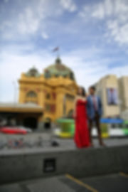 Flinder's Street Station prewedding photo and video, piccadilly studios, piccadilly wander, melbourne prewedding photos, melbourne prewedding video. melbourne engagement photo, melbourne engagement video,melbourne prewedding videographer