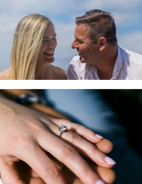 Tiffany engagement ring, Sorrento engagement video, Sorrento weddings, Piccadilly Studios, All smiles wedding video, beachside engagement video, beachside engagement photos, beachside engagement