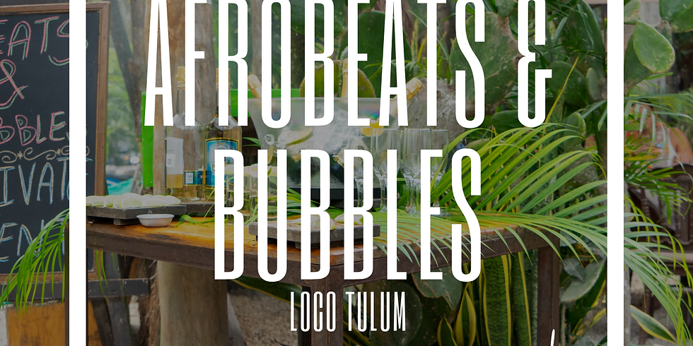 Afrobeats & Bubbles - Memorial Day Wkd