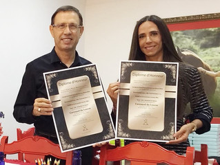 Carlos Wizard ( Wiseup e Wizard) e Luciana Fasano (Criadora de Cavalos Arabes no Brasil)