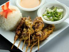 Chicken Satay Meal