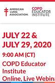 COPD Educator Institute   Online, Live Webinar