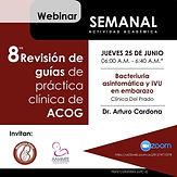 8ª Revisión de guías de práctica clínica de ACOG