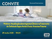 Atualização sobre Aspectos Clínicos no Tratamento do Defeito do Septo Atrial e Ducto Arterioso Patente