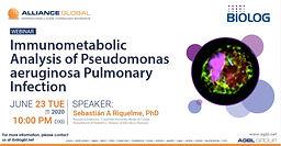 Immunometabolic Analysis of Pseudomonas aeruginosa Pulmonary Infection