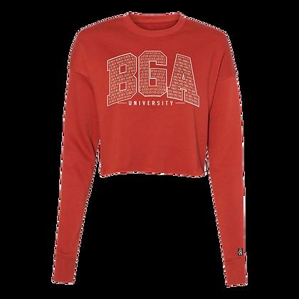 University Crop Sweatshirt