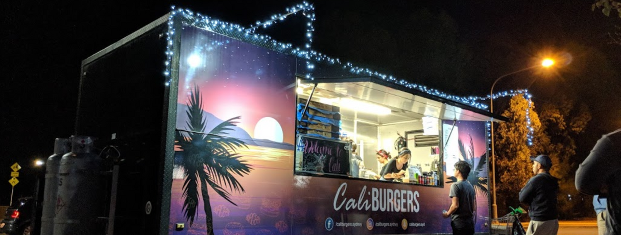 Cali Burgers Food Truck