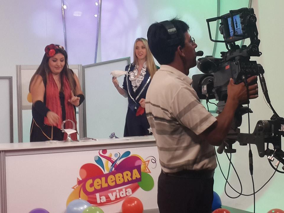 Con Mágica Rocio En Ecuador TV