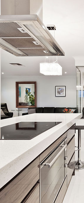modern kitchen and white simple clean look