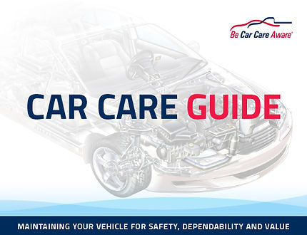 Cartronics Car Care Guide