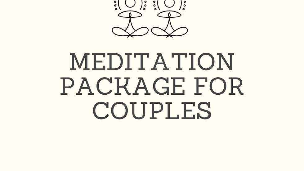 Meditation Package for Couples