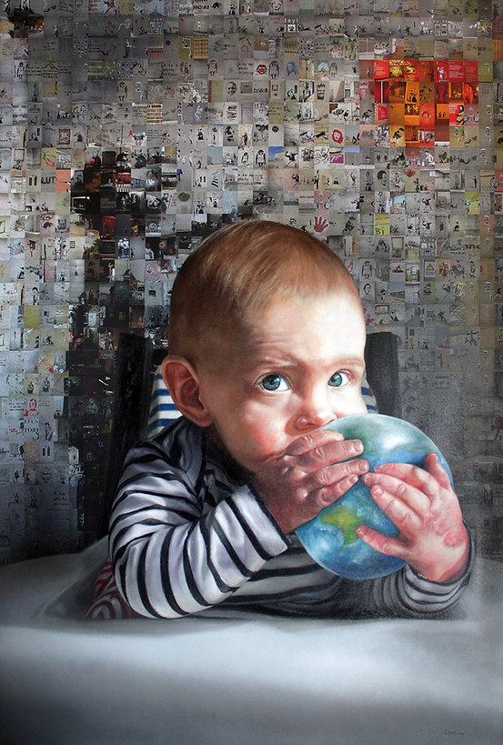 Handing the planet over - Julian Clavijo