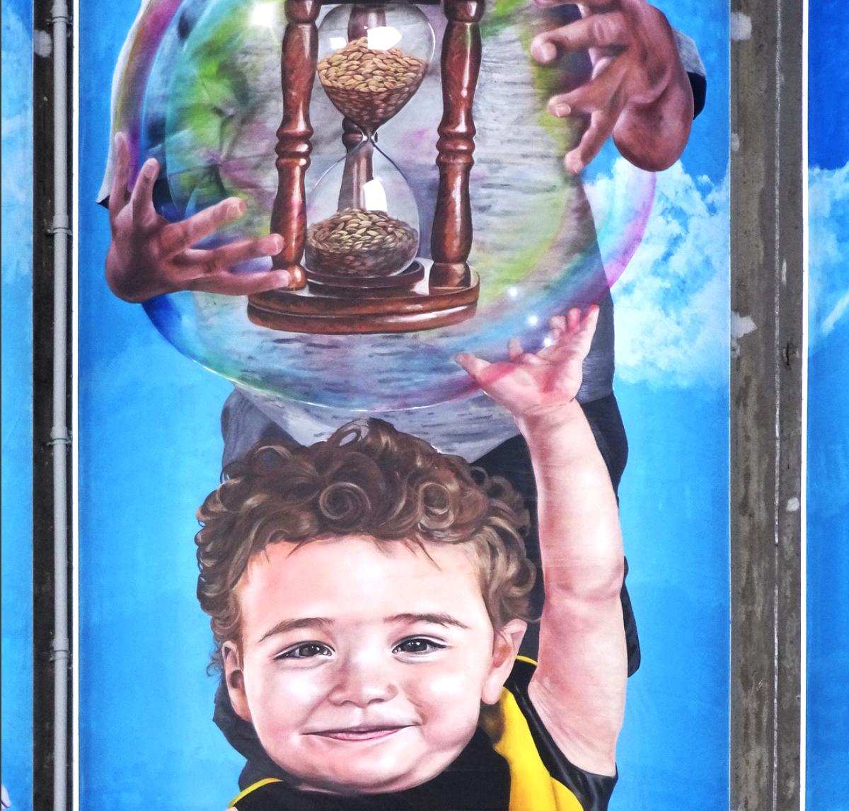 Nylex Silos Mural