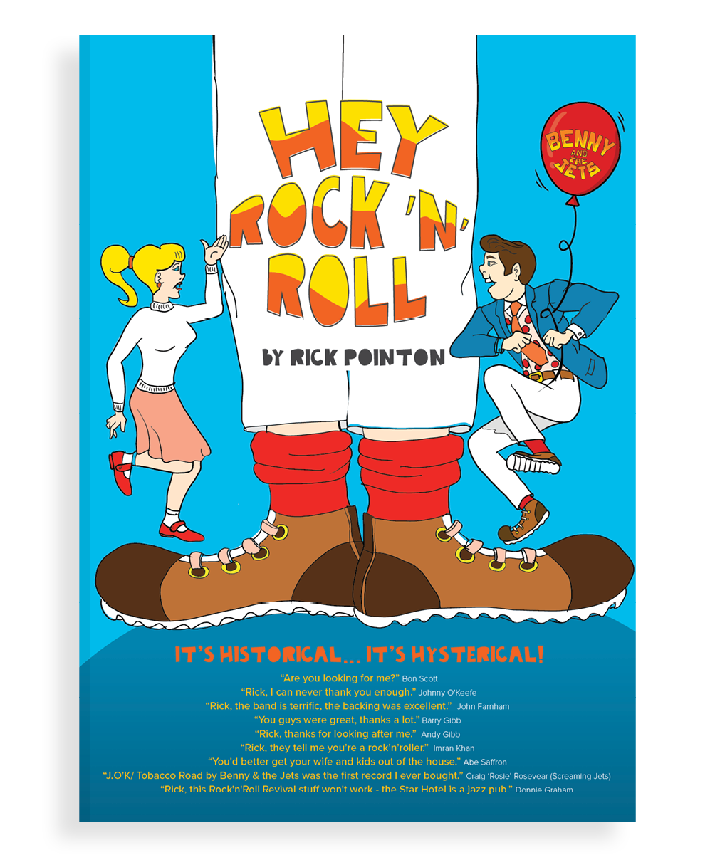 Hey Rock 'N' Roll book cover.