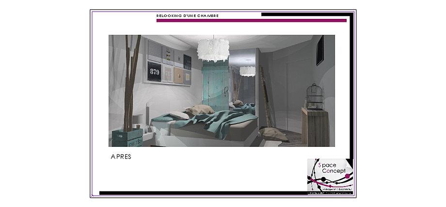 D coration int rieure space concept chambre 85 vend e les - Concept alu les herbiers ...