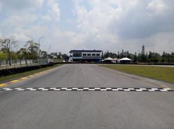 start/ finish line