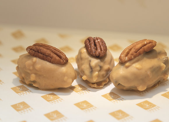 Dates Dipped In Peanut Butter