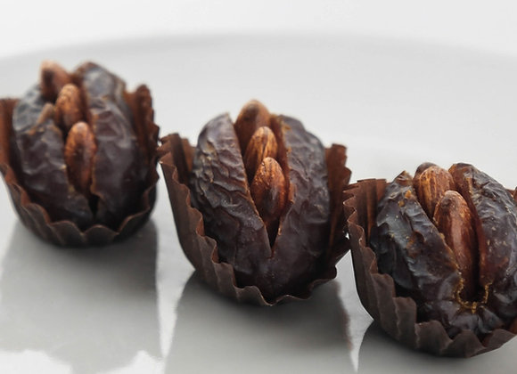 Dates Stuffed with Almonds