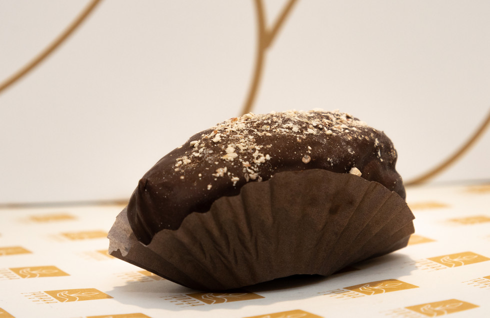 dipped dates in chocolate