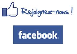 Rejoignez-nous sur facebook!