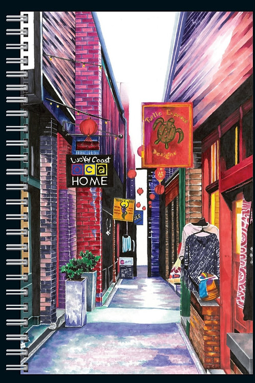 Fan Tan Alley notebook