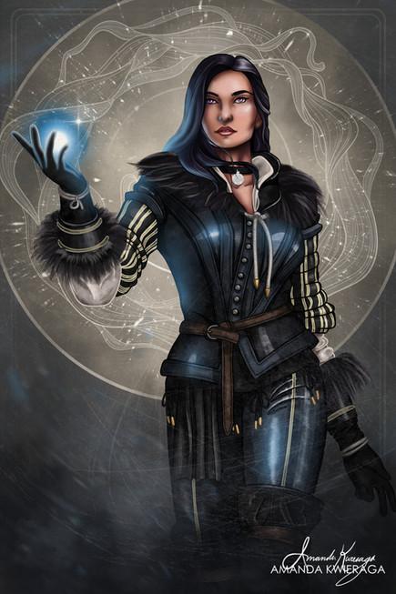 The Sorceress - Yennefer