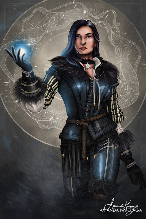 The Sorceress - Yennefer