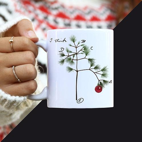 Darwin's Christmas Tree Mug