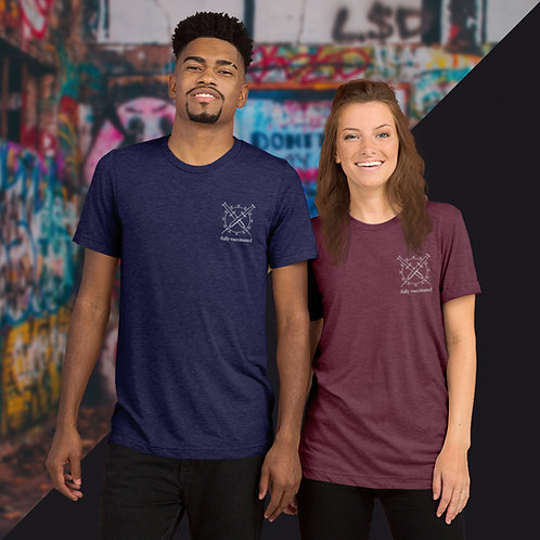 Fully Vaccinated | Embroidered T-Shirt