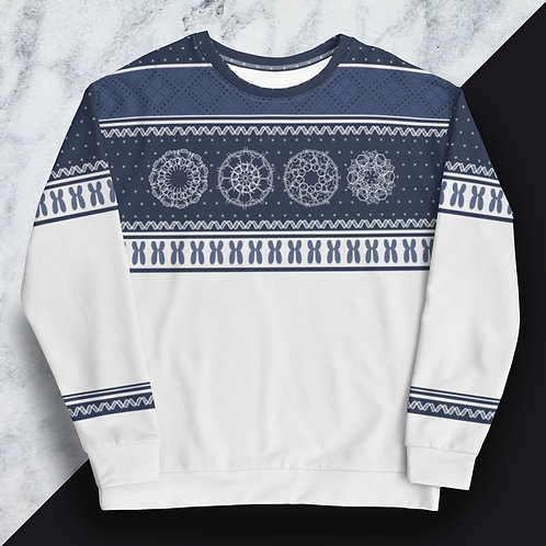 DNA Holiday Sweater   Unisex Sweatshirt