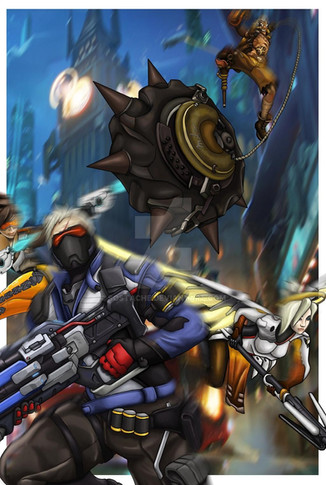 Overwatch: Fire in the Hole
