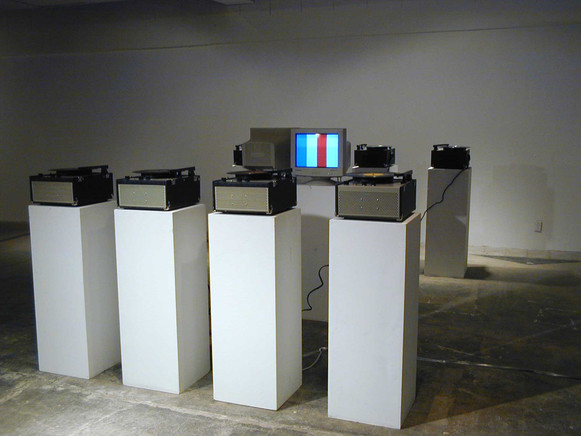 Itch Installation view Forest City Gallery London ON
