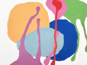 "Vexations 1611 2018  20""x 24"" acrylic on canvas"