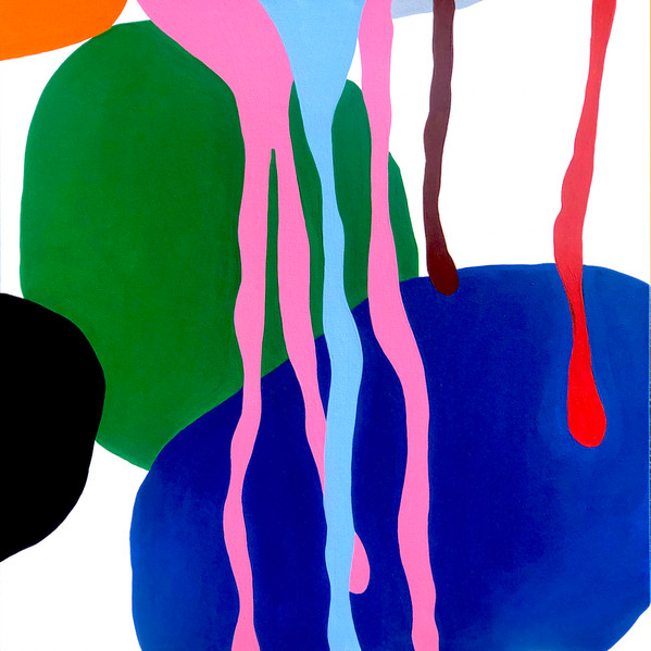 "A Love Supreme  (Psalm), 2021  36""x 36"" acrylic on canvas"