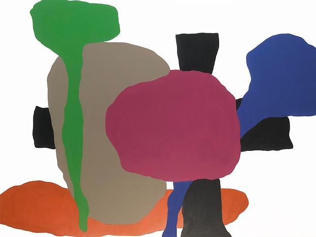 """Sight 2018  36""""x 48"""" acrylic on canvas"""