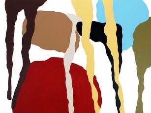 "Rubato 2018  48""x 48"" acrylic on canvas"