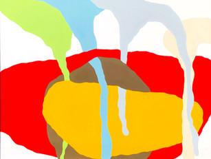 "Endless Autumn 2019, 48'x 60"" acrylic on canvas"