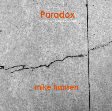 """Paradox Box Set 2019 (a study in musique concréte)  Paradox is a five-record handcrafted box set in a limited edition of 10. Each box set contains four hand-cast playable concrete stereo 10"""", 33rpm singles and one hand- lathed vinyl 10"""" stereo EP of all four compositions- Paradox 1-4."""
