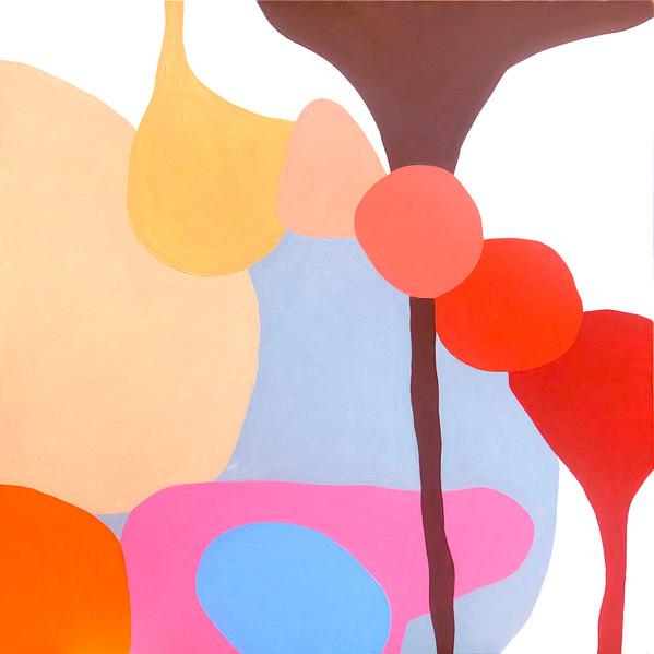 "A Love Supreme (Pursuance), 2021  36""x 36"" acrylic on canvas"