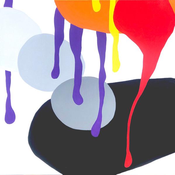 "A Love Supreme (Resolution) 2021  36""x 36"" acrylic on canvas"